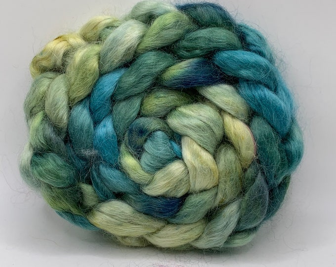Kid Mohair Combed Top - 5oz - Gin Fizz 1