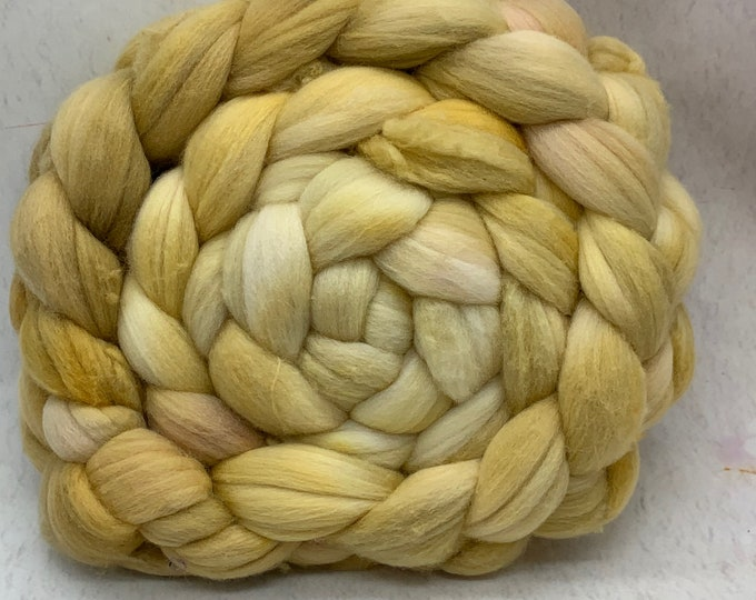 Merino 14.5 Micron Combed Top - 5oz - Butter Biscuits 2