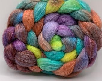 Shetland/Mulberry Silk 75/25  Combed Top - 5oz - Pixie Sticks 2