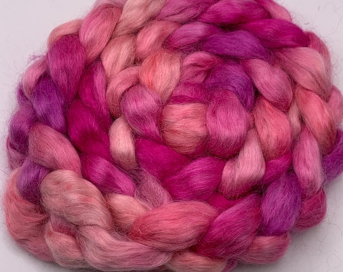 Kid Mohair Combed Top - 5oz - Kisses 1
