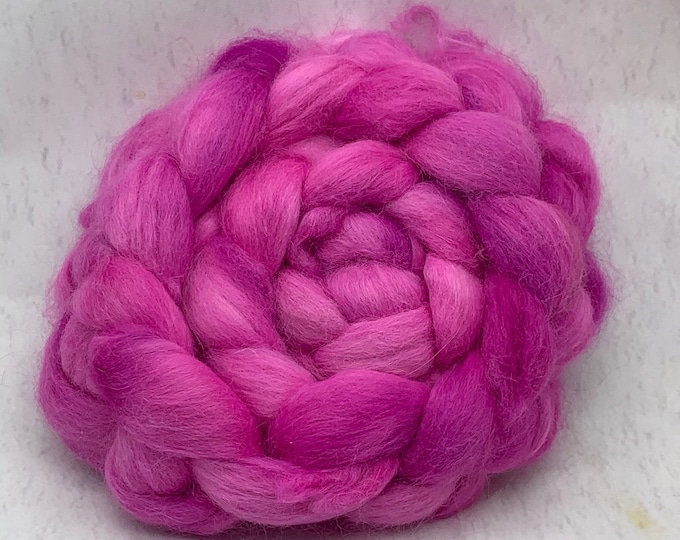 Angora Combed Top - 2oz - Orchid 2