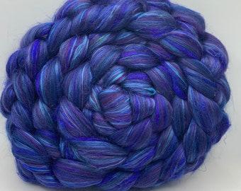 Merino 23/Sari/Mulberry - 50/15/35 - 5oz - Sapphire