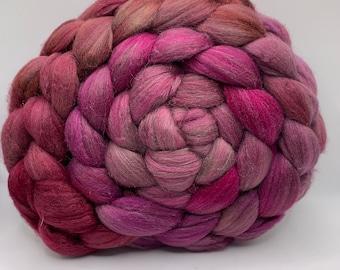 Merino 18.5/Peduncle Silk 75/25 - 5oz - Rose Goblin 1