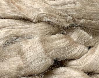 Spinning Fiber Muga Silk 2oz - Undyed