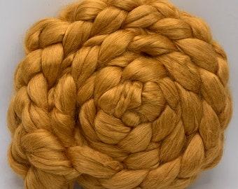 Spinning Fiber Eri Silk Old Gold 2oz - Undyed