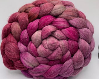 Merino 18.5/Peduncle Silk 75/25 - 5oz - Rose Goblin 2