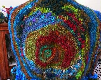 norway pine----a handspun vest