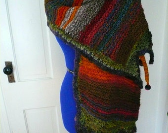 forest wrapture- a shawl