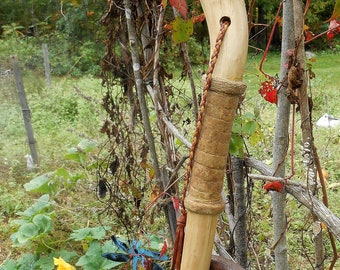 Wood Walking Stick, Maple Hiking Staff for Nature Walks