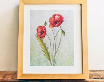 """Watercolor Floral 