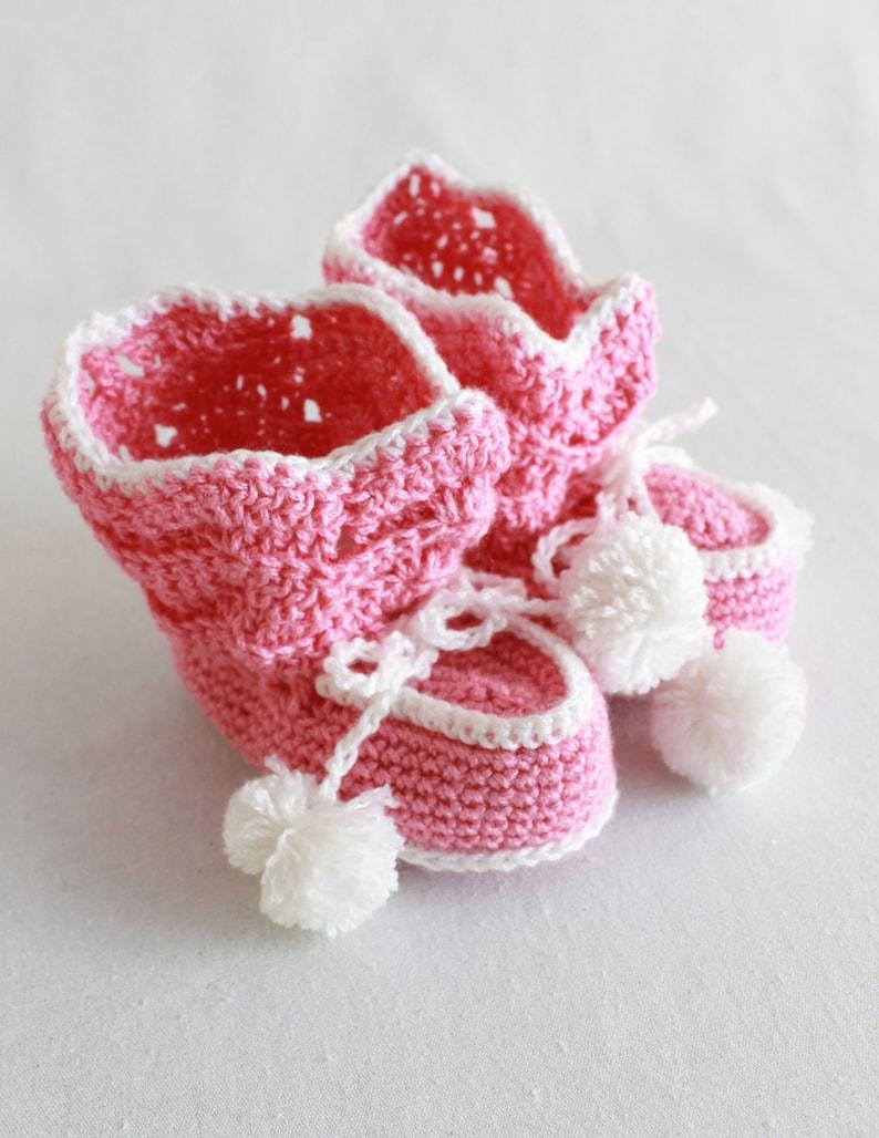 Crochet Pattern PDF Ripple Layette