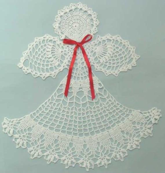 Angel Abriel Doily Crochet Pattern PDF | Etsy