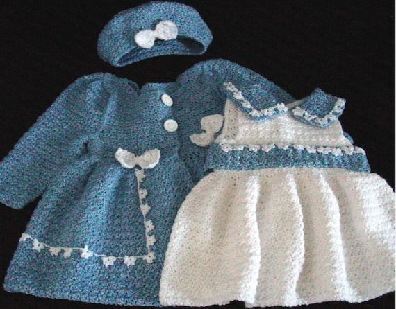 Crochet Pattern PDF Bon Bon Dress /& Jacket Set