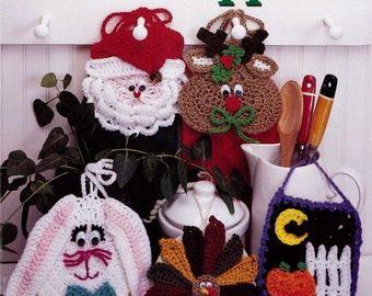 Holiday Towel Toppers Crochet Pattern Download