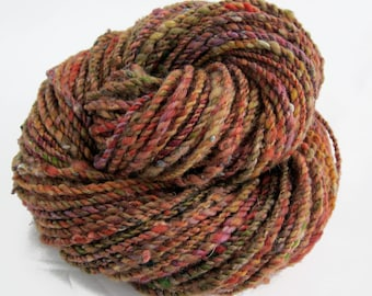 ON SALE! - 96 yds, worsted weight, handspun yarn, 2 ply, 'Sugar Maples'