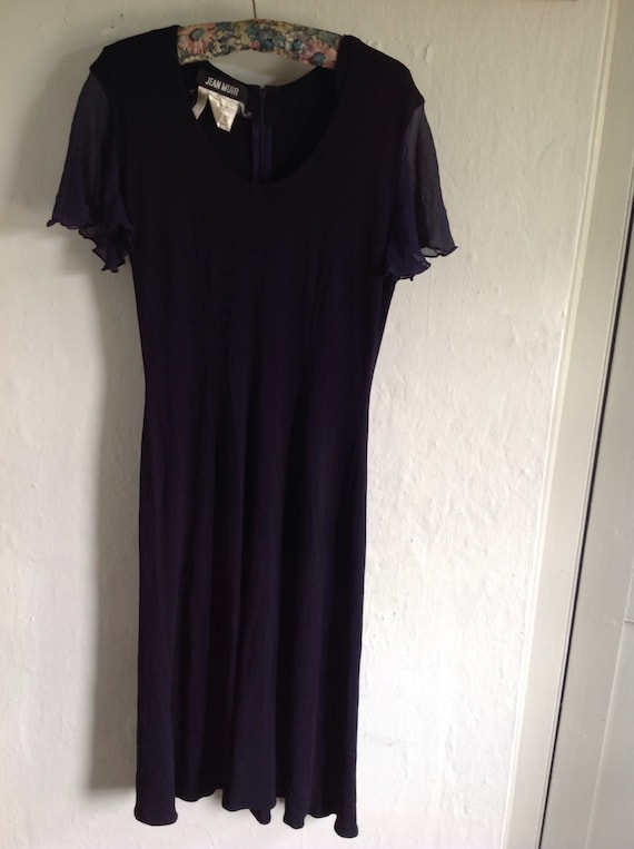 1980s Vintage Jean Muir dress  size  10