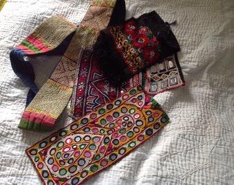 Vintage ethnic embroideries .
