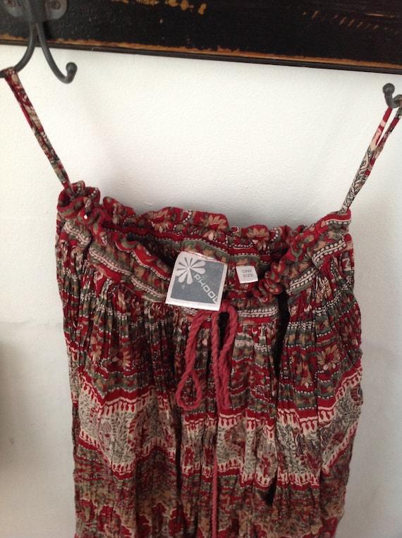 Phool gauze maxi skirt one size - image 4
