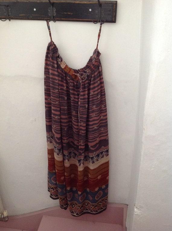 Vintage Phool maxi skirt size 16