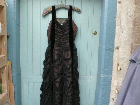 1950s little black dress - image 3