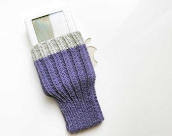 Hand Knit Apple iPod Classic Cozy | Apple iPod Sock | Apple iPod Classic Cover | iPod Case - iSock Style