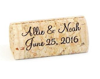 Wine Cork Place Card Holder Personalized,Escort Card Holder, Place Cards, Personalized Wine Cork Card Holder Rustic Wedding Vineyard Wedding