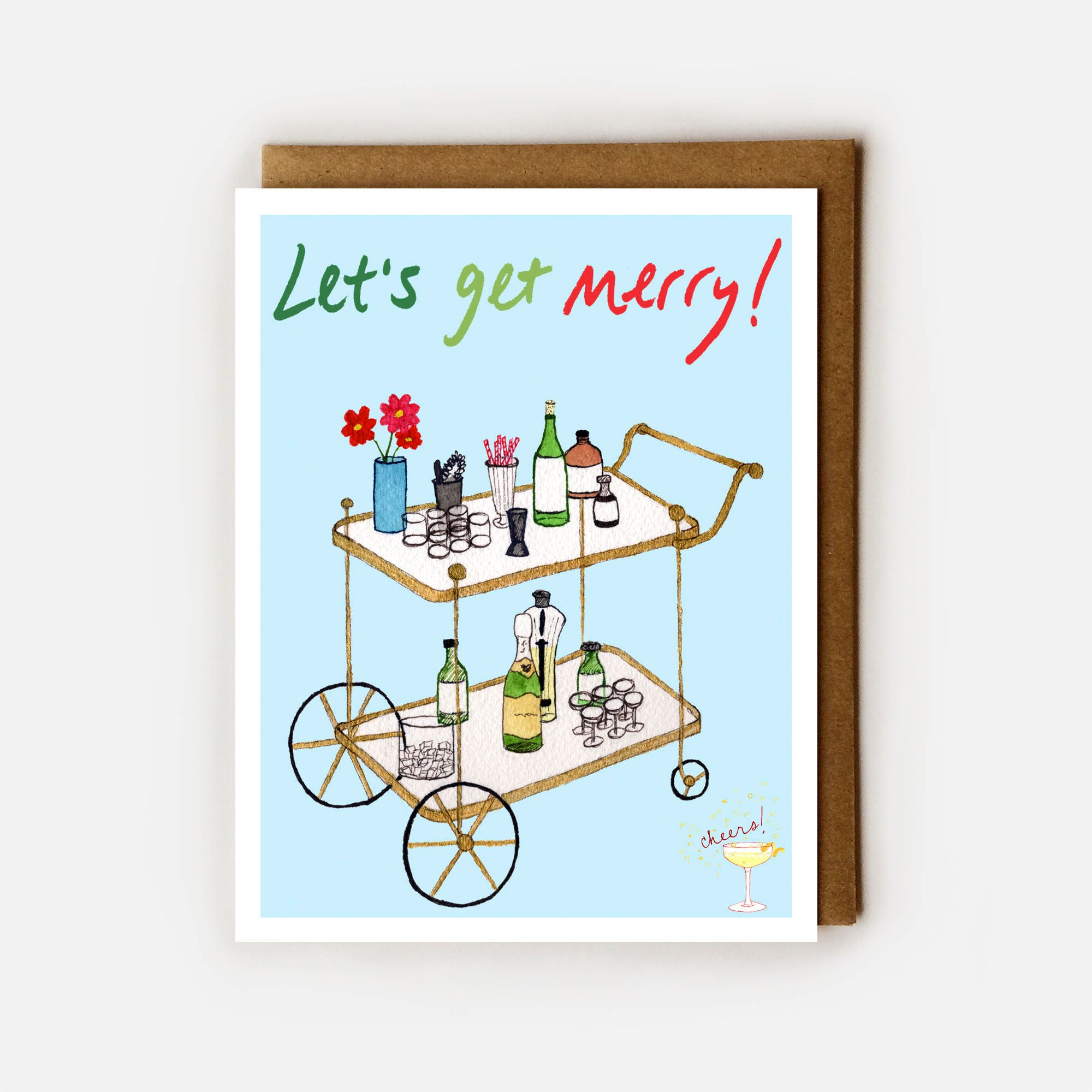 Funny Christmas Card Funny Holidays Card Naughty Christmas | Etsy