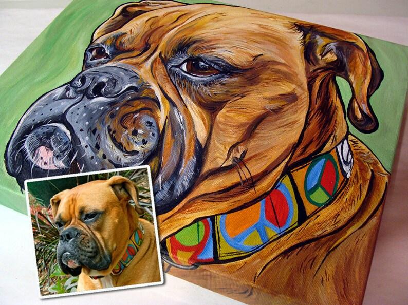 11x14 Custom Painting Acrylic Original Painting Gift Art image 0