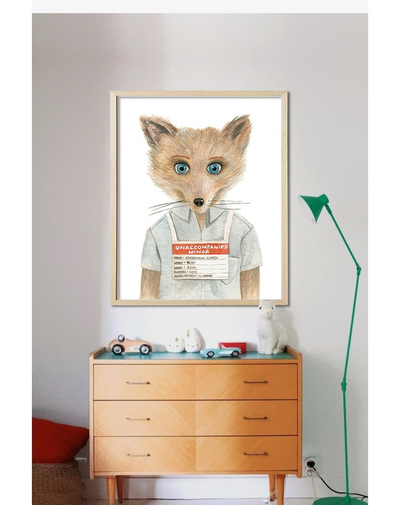 Fantastic Mr Fox Digital File Kristofferson Wes Anderson Etsy