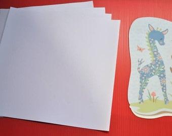 "Printable Vinyl InkJet Printer Adhesive Backed 2 - Sheets 12"" x 24"""