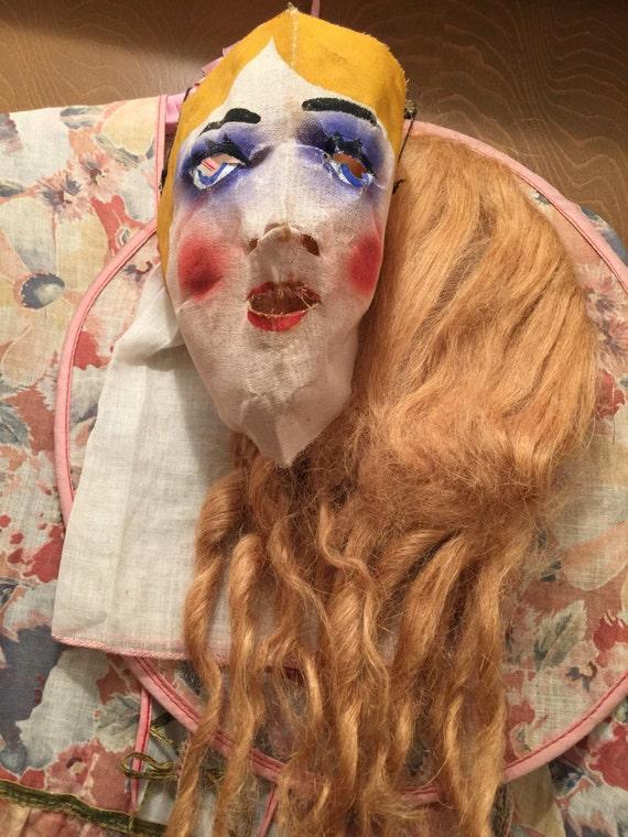Antique Lady Circus Costume Halloween