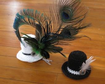 Tiny Wedding Top Hats