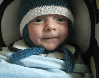 Baby Hat with Ear Flaps