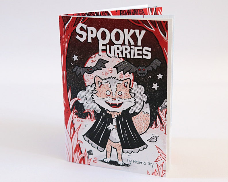 Spooky Furries  Picture Poem Book image 0