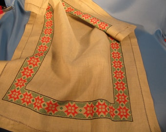 LINEN MAT of ROMANIAN Woven Fabric ad9be8386c