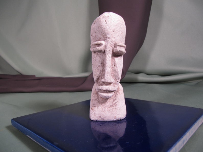 Easter island carving easter island faux stone carving etsy