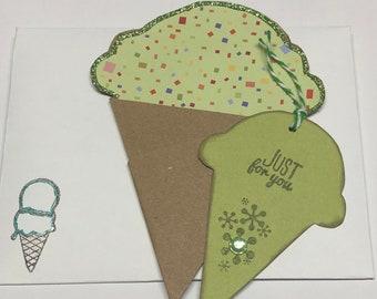 Ice Cream Cone Gift Card Holders