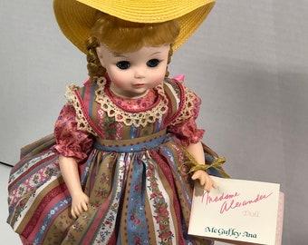 McGuffey Ana Porcelain Doll