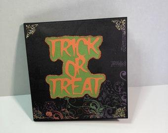 Halloween Mini Album Keepsake