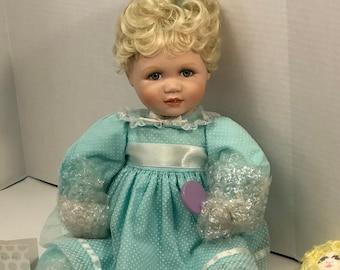 Vintage Porcelain Amanda Doll