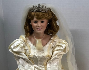 Vintage Princess Sarah Bride Doll