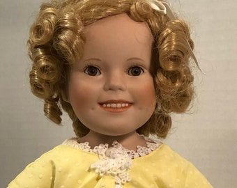 Shirley Temple Birthday Magic Porcelain Collectible