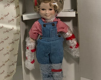 Shirley Temple as Rebecca Vintage Porcelain Doll