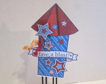 Have a Blast Birthday card/Special Day/Graduation