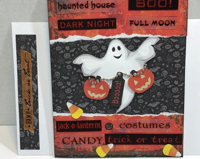 Featured listing image: Halloween Greeting Card