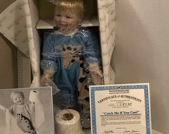 """Little Stevie """"Catch Me If You Can"""" Vintage Doll"""