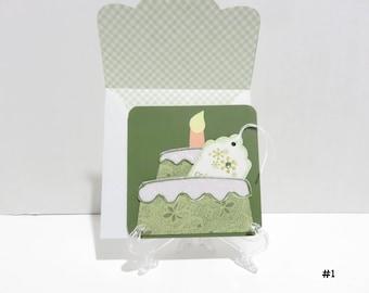 Cake Shaped Gift Card Holder