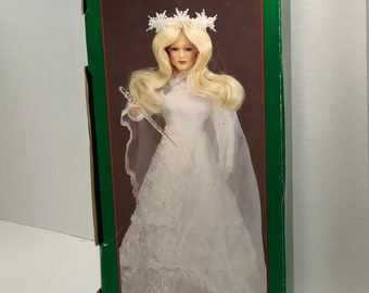 Vintage Christmas Around the World Snow Queen Doll