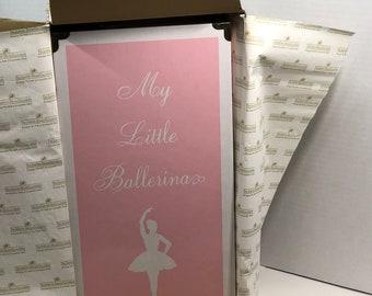 Vintage My Little Ballerina Pink Trunk