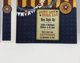 Big Top Birthday Card